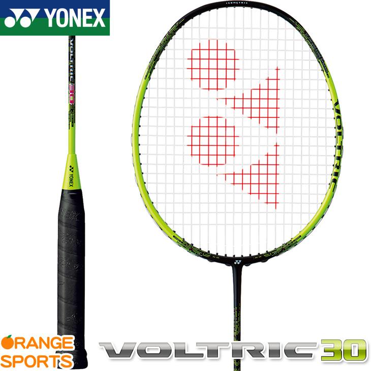 ヨネックス YONEX ボルトリック 30 VOLTRIC 30 VT30 バドミントン バドミントンラケット ブラック/ライム(763) 5U(平均78g)5・6