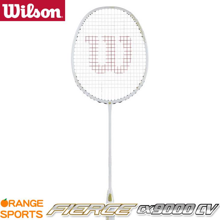 ウイルソン Wilson フィアース CX9000 CV FIERCE CX9000 CV WRT004011S 5U(79g±2)5 ヘッドヘビー バドミントンラケット