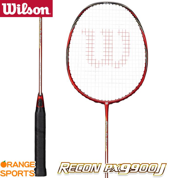 【ラスト1本!】 ウイルソン Wilson レコンPX9900J RECON PX9900J WRT8693202 3U5 バドミントンラケット