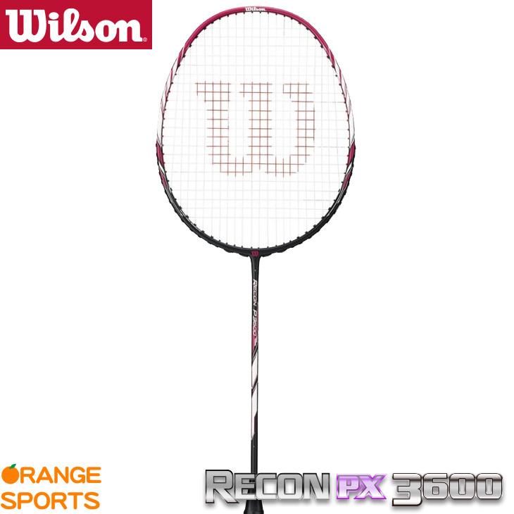 ウイルソン:Wilson レコンPX 3600 RECON PX 3600 WRT8806202 3U5 バドミントンラケット