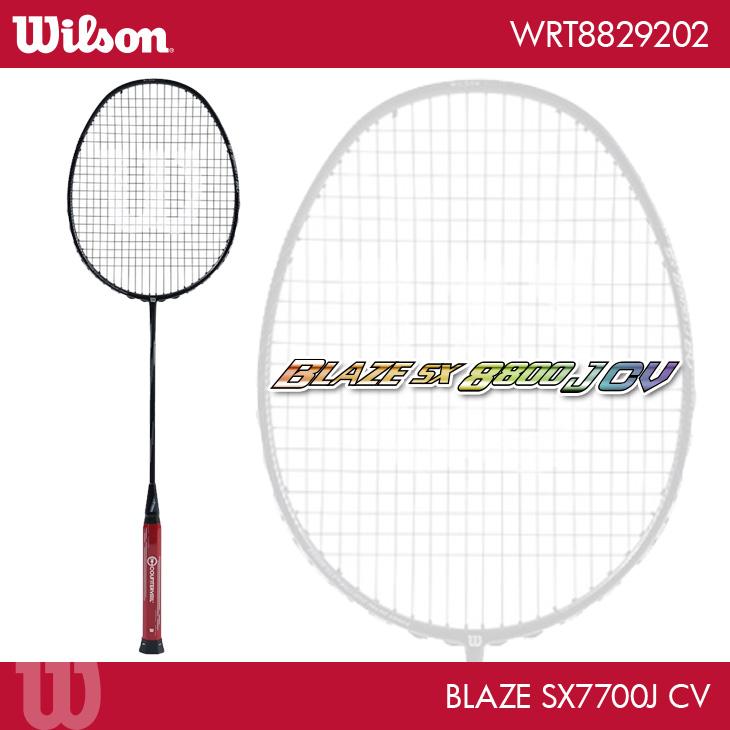 ウイルソン:Wilson ブレイズ SX 7700 J CV BLAZE SX 7700 J CV WRT8829202 4U5 バドミントンラケット