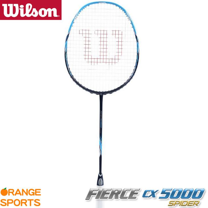ウイルソン Wilson フィアース CX5000 スパイダー FIERCE CX5000 SPIDER WRT8872202 4U5(83±2g) イーブンバランス バドミントンラケット