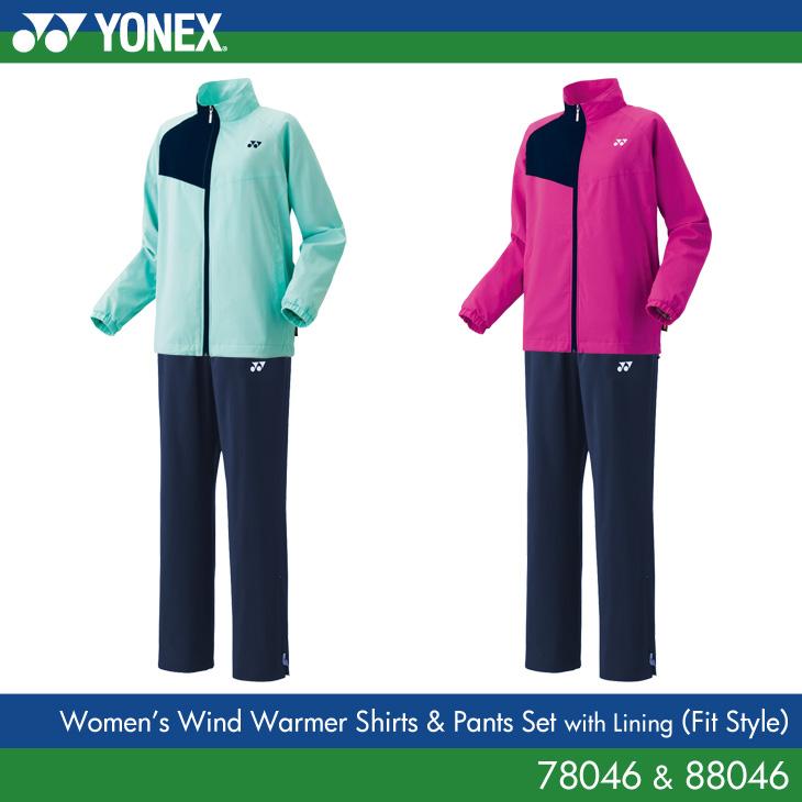 【40%OFF セール】ヨネックス:YONEX 裏地付きウィンドウォーマーパンツ(フィットスタイル) 78046 88046 WOMENS:女性用 トレーニングウェア バドミントン・テニスウェアウィンドブレーカー