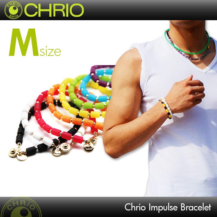 クリオ CHRIO インパルス ブレスレット Mサイズ Inpules Necklace Mサイズ 19cm スポーツアクセサリー ブレスレット
