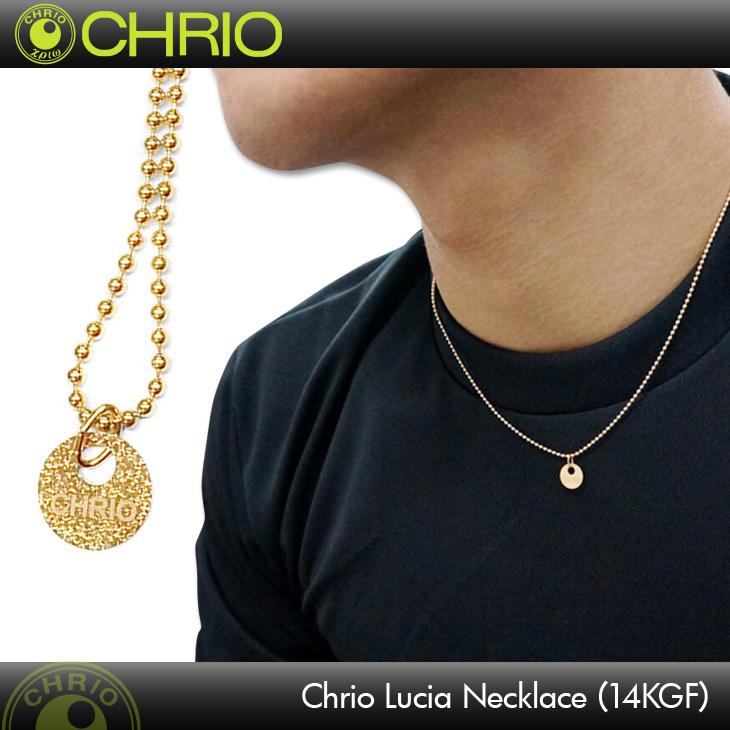 クリオ Chrio クリオ ルシアネックレス(14金ゴールドフィルド) Chrio Lucia Necklace Sサイズ(40cm) / Mサイズ(45cm)