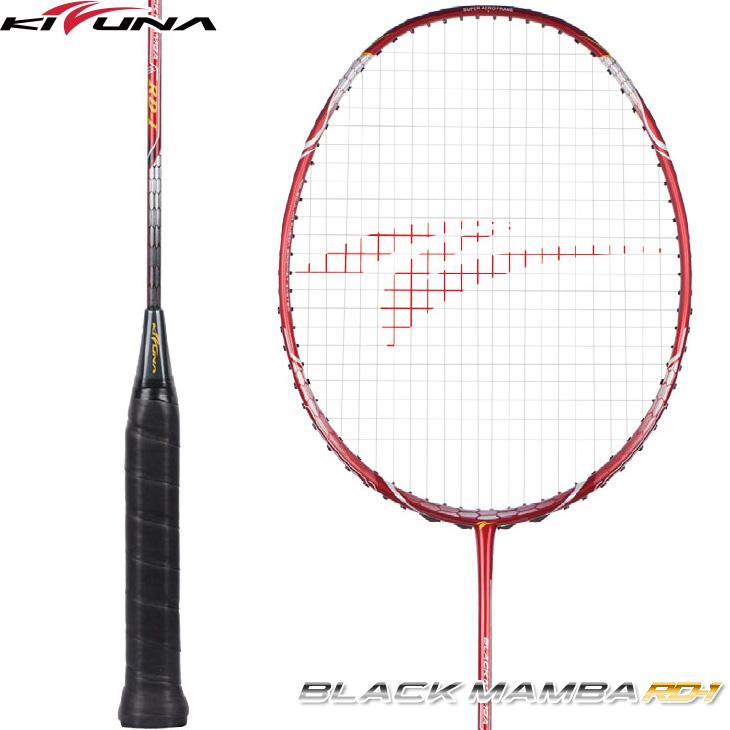 キズナジャパン KIZUNA JAPAN ブラックマンバ RD-1 BLACK MAMBA BM-RD1 4U5 バドミントンラケット 上級者向