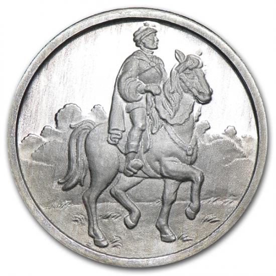 1/2オンス 王子銀貨 ディズ二ー50周年記念