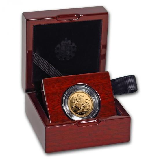 新品未使用 2018 イギリス ソブリン金貨 プルーフ 13350枚限定