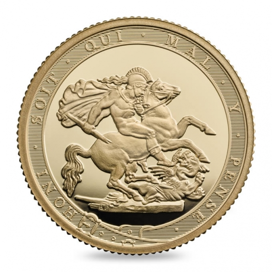 新品未使用 2017 イギリス  ソブリン金貨  プルーフ 200周年記念