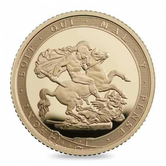 新品未使用 2017 イギリス ハーフ ソブリン金貨  プルーフ 200周年記念