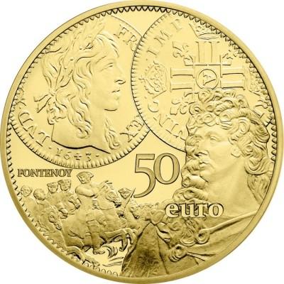 新品未使用 2017 フランス 金貨 1/4オンス THE LOUIS D´OR プルーフ