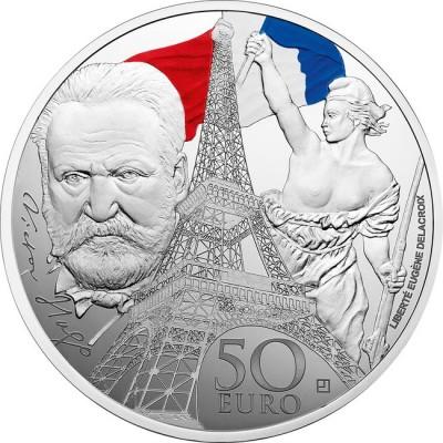 新品未使用 2017 フランス IRON AND GLASS 銀貨 5オンス プルーフ
