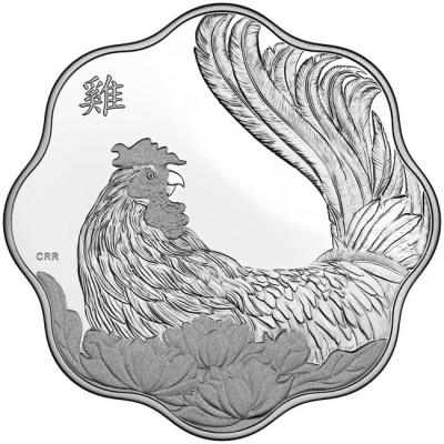 新品未使用 2017 カナダ 鳥  銀貨 プルーフ
