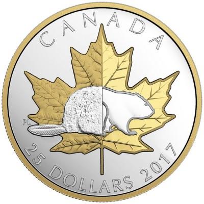 新品未使用 2017 カナダ  TIMELESS ICONS 銀貨 箱付き プルーフ
