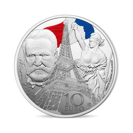 新品未使用 2017 フランス IRON AND GLASS 銀貨 22g プルーフ