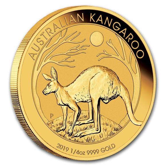 2019 オーストラリア カンガルー金貨 1/4オンス カンガルー金貨 21mmクリアケース付き 1/4オンス 2019 新品未使用, ginlet(ジンレット):29d03f48 --- sunward.msk.ru