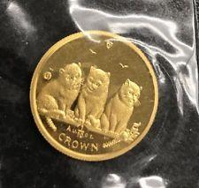 2006 マン島キャット金貨 1/10オンス ショートヘヤー キャット クリアーケース付き
