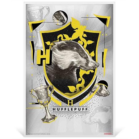 2020 ニウエ ハリーポッター:ホグワーツ・ハッフルパフ寮旗 1ドル紙幣型銀貨 5g 箱とクリアケース付き 新品未使用