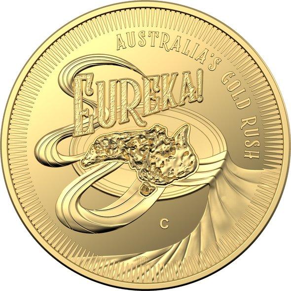2020 オーストラリア エウレカ!ゴールドラッシュ 10ドル金貨 1/10オンス プルーフ 箱とクリアケース付き 新品未使用