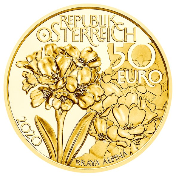 2020 オーストリア 高峰 金貨 1/4オンス プルーフ 箱とクリアケース付き 新品未使用