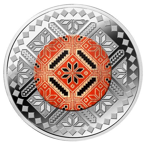 2019 カメルーン ウクライナの民俗 500フラン銀貨 1オンス プルーフ 箱とクリアケース付き 新品未使用