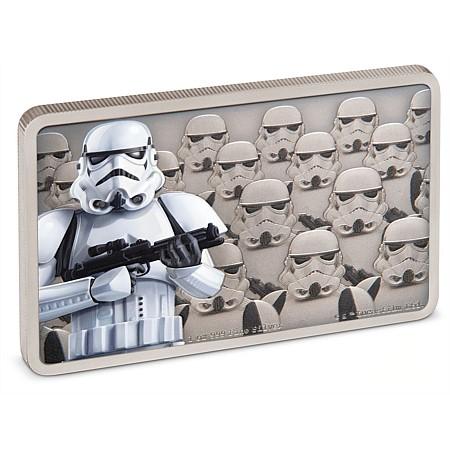 2020 ニウエ スター・ウォーズ:帝国の衛兵ストームトルーパー 2ドル銀貨 1オンス 箱とクリアケース付き 新品未使用