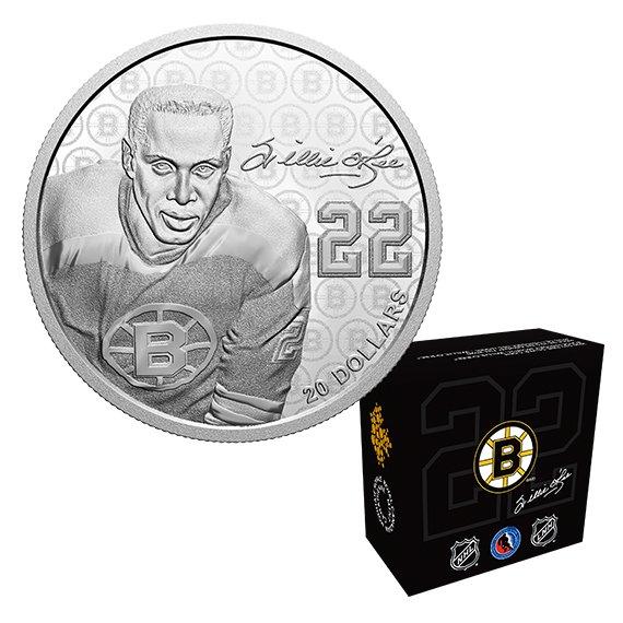 2020 カナダ 黒人歴史月間:ウィリー・オリー 20ドル銀貨 1オンス プルーフ 箱とクリアケース付き 新品未使用