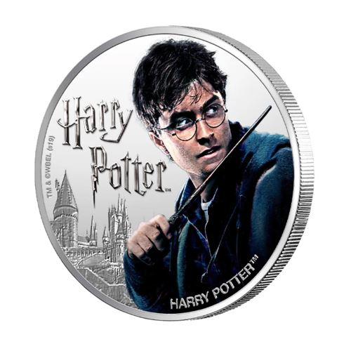 2020 フィジー ハリーポッター 1ドル銀貨 1オンス 箱とクリアケース付き 新品未使用