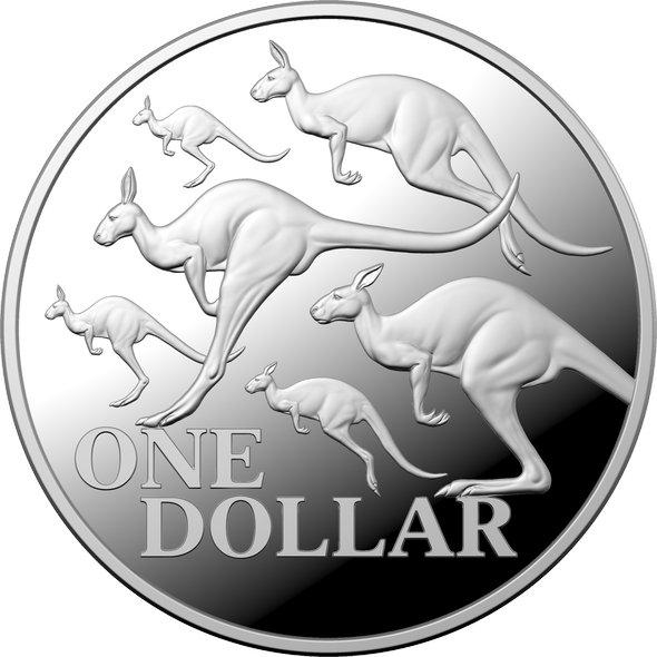 2020 オーストラリア カンガルーシリーズ:アカカンガルー 1ドル銀貨 1オンス プルーフ 箱とクリアケース付き 新品未使用