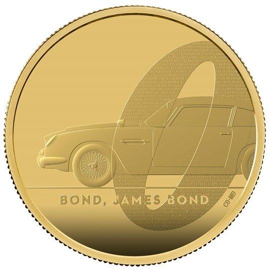 2020 イギリス 007 ジェームズ・ボンド 200ポンド金貨 2オンス プルーフ 箱とクリアケース付き 新品未使用