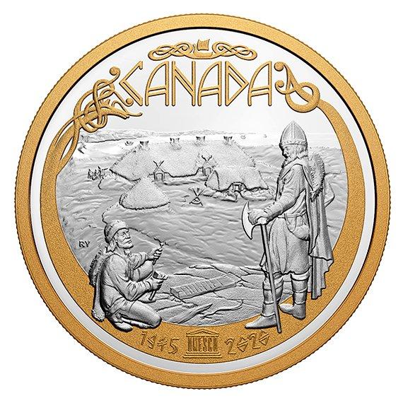 2020 カナダ UNESCO 75周年記念 銀貨 1/2キロ プルーフ 箱とクリアケース付き 新品未使用