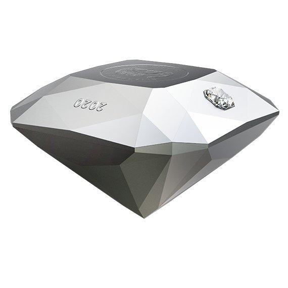 2020 カナダ フォーエバーダイヤモンド付ダイヤモンド型50ドル銀貨 3オンス 艶消しプルーフ 箱とクリアケース付き 新品未使用