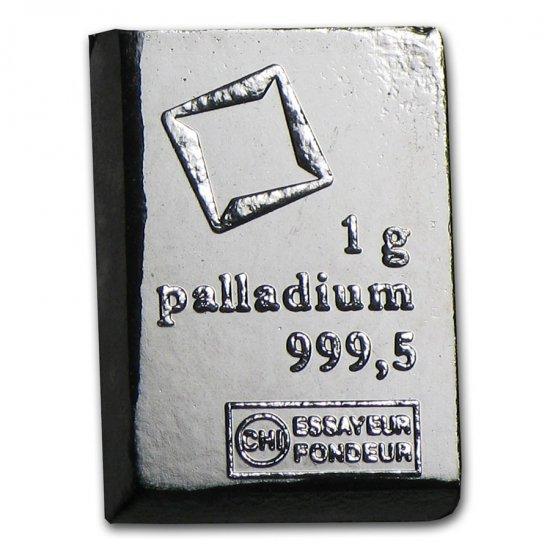 ※本物保証・送料無料※  1グラム Valcsmbi社 パラジウム