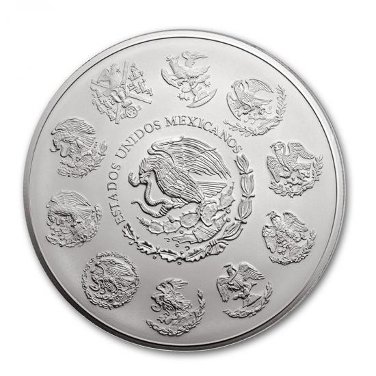 新品未使用 2016 メキシコ リベリタード 銀貨 1KG クリアーケース入り