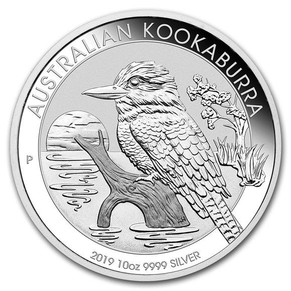 2019 オーストラリア クッカバラ(カワセミ) 銀貨 10オンス クリアーケース付き 新品未使用