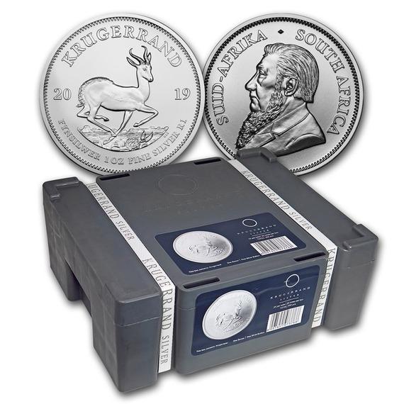 2019 南アフリカ クルーガーランド銀貨 1オンス 500枚セット モンスターBOX付き 新品未使用