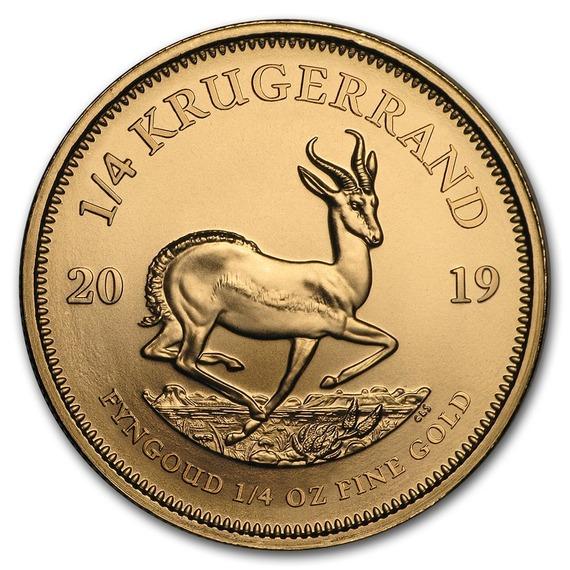 2019 南アフリカ クルーガーランド金貨 1/4オンス 【22mmクリアーケース付き】 新品未使用