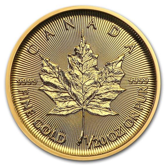 2019 カナダ メイプルリーフ金貨 1/20オンス 40枚セット(真空パック入り) 新品未使用