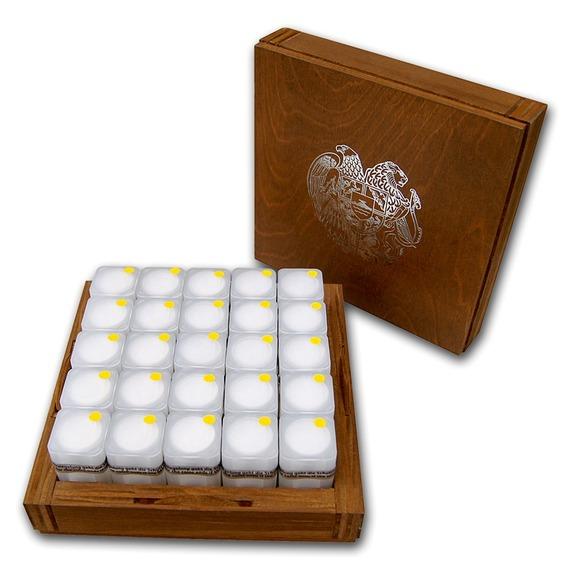 2019 アルメニア ノアの方舟 銀貨 1オンス500枚セット (ミントロールと木箱付き) 新品未使用