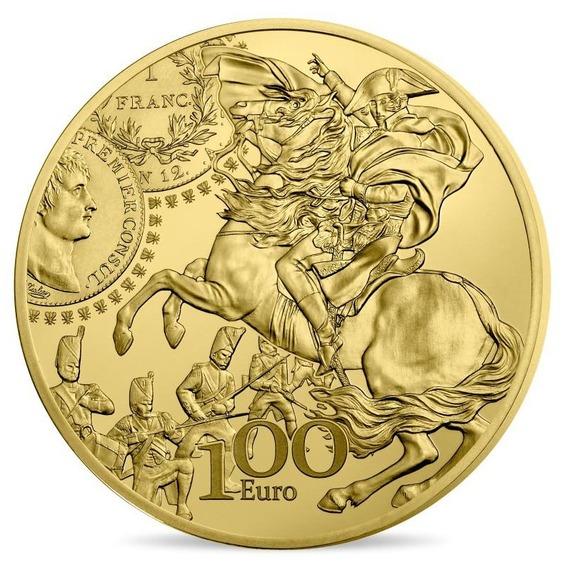 2019 フランス ジェルミナール・フラン 金貨 1/2オンス プルーフ クリアケース付き 新品未使用