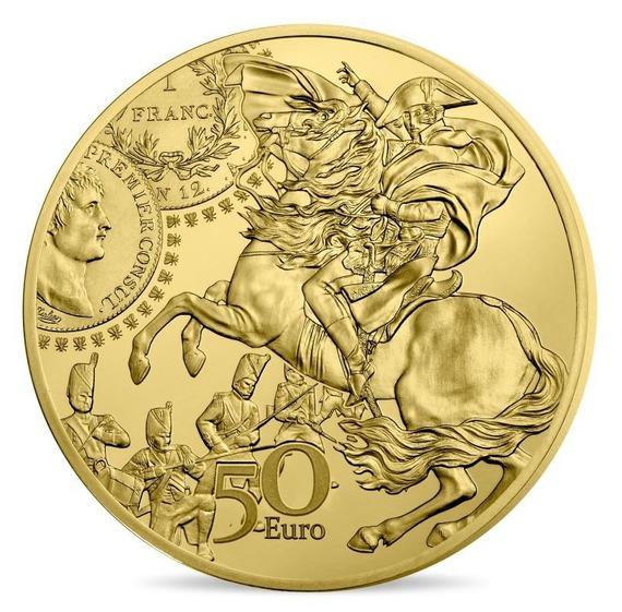 2019 フランス ジェルミナール・フラン 金貨 1/4オンス プルーフ クリアケース付き 新品未使用