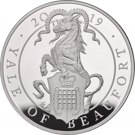 2019 イギリス 10オンス クィーンズビースト:ボーフォートのエアレー 銀貨 新品未使用 10オンス 2019 プルーフ 箱とクリアケース付き 新品未使用, BILLS:56c4a9e8 --- sunward.msk.ru