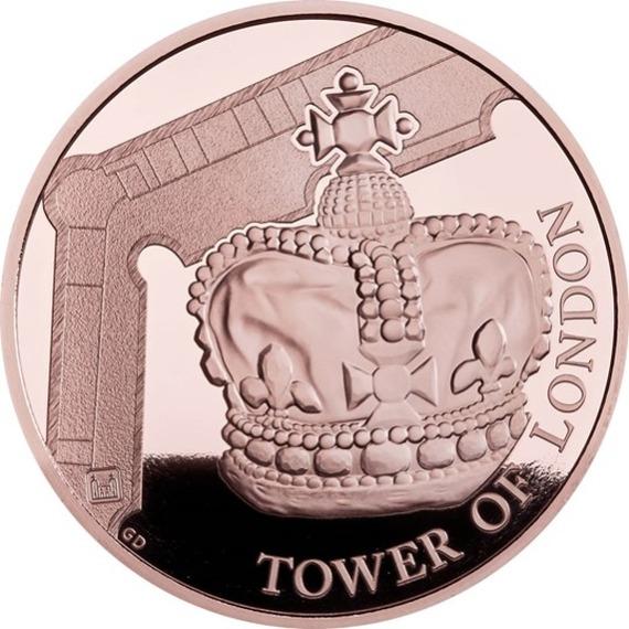 2019 イギリス 王室祭具 5ポンド金貨 プルーフ 箱とクリアケース付き 新品未使用