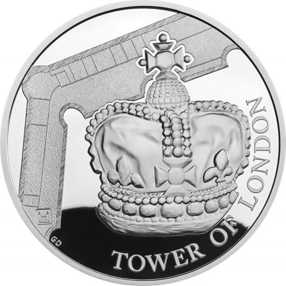 2019 イギリス 王室祭具 5ポンド銀貨 プルーフ 箱とクリアケース付き 新品未使用