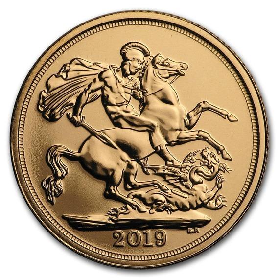 2019 イギリス ソブリン金貨 クリアケース付き 新品未使用