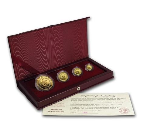 1996年 オーストラリア ナゲット金貨 プルーフ 【4枚】セット