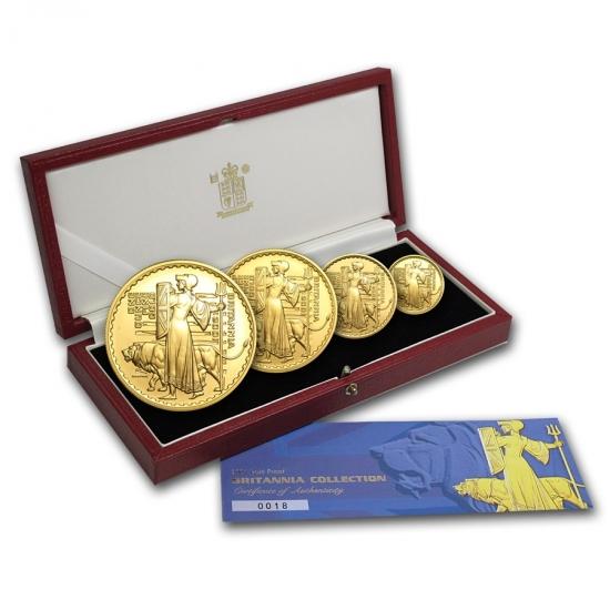 今季一番 2001 イギリス Britain Great Britain ブリタニア金貨1、1/2、1 イギリス/4【4枚】セット、1/10オンス【4枚】セット, 安曇川町:a82e7210 --- newplan.com