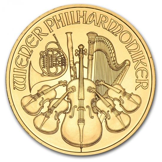 新品未使用 2012 オーストリア ウィーン金貨 1オンス(37mmクリアーケース付き)