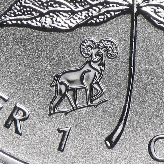 新品未使用 2015  カナダ メイプルリーフ銀貨 1オンス【38mmクリアーケース付き】【干支羊】