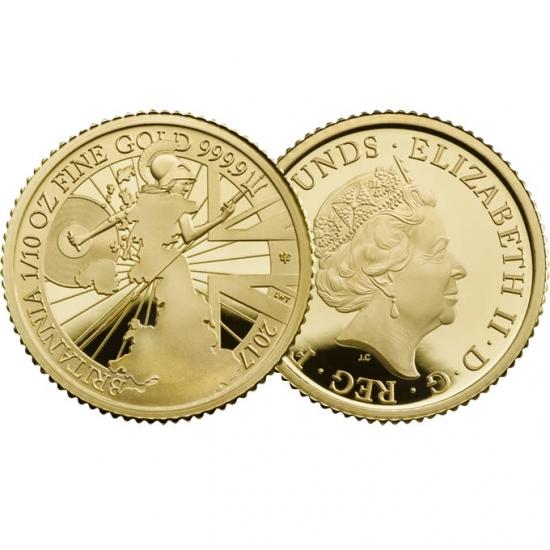 新品未使用2017 イギリス NEW ブリタニア 金貨 3コインセット プルーフ 箱付き 【200枚】限定